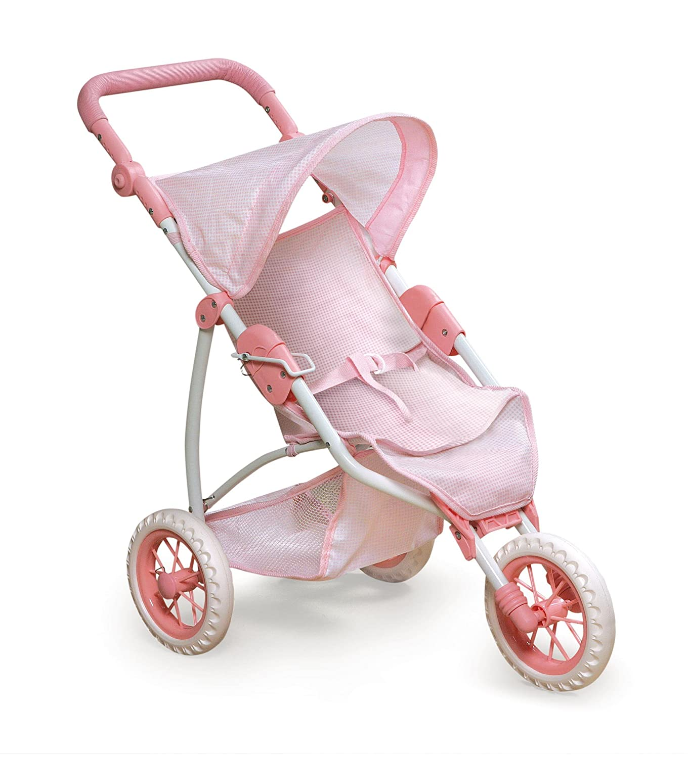 Amazon Badger Basket Three Wheel Doll Jogging Stroller fits American Girl dolls Toys & Games