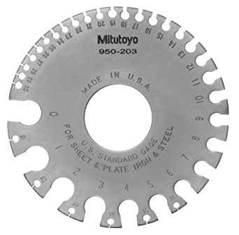 Mitutoyo 950 203 us standard wire gage for 0 36 gage ferrous wire mitutoyo 950 203 us standard wire gage for 0 36 gage ferrous wire greentooth Image collections