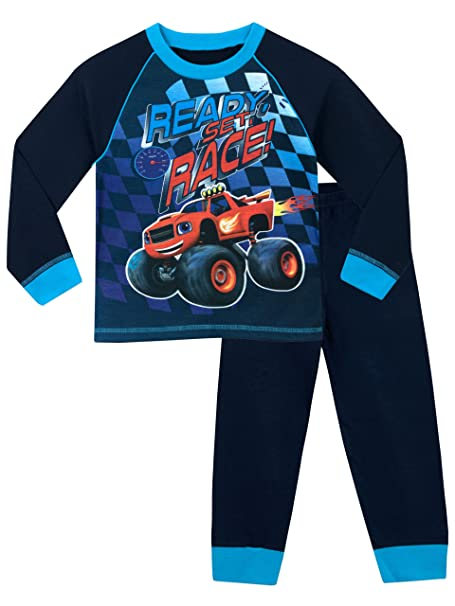 Blaze y los Monster Machines - Pijama para Niños - Blaze and the Monster Machines -