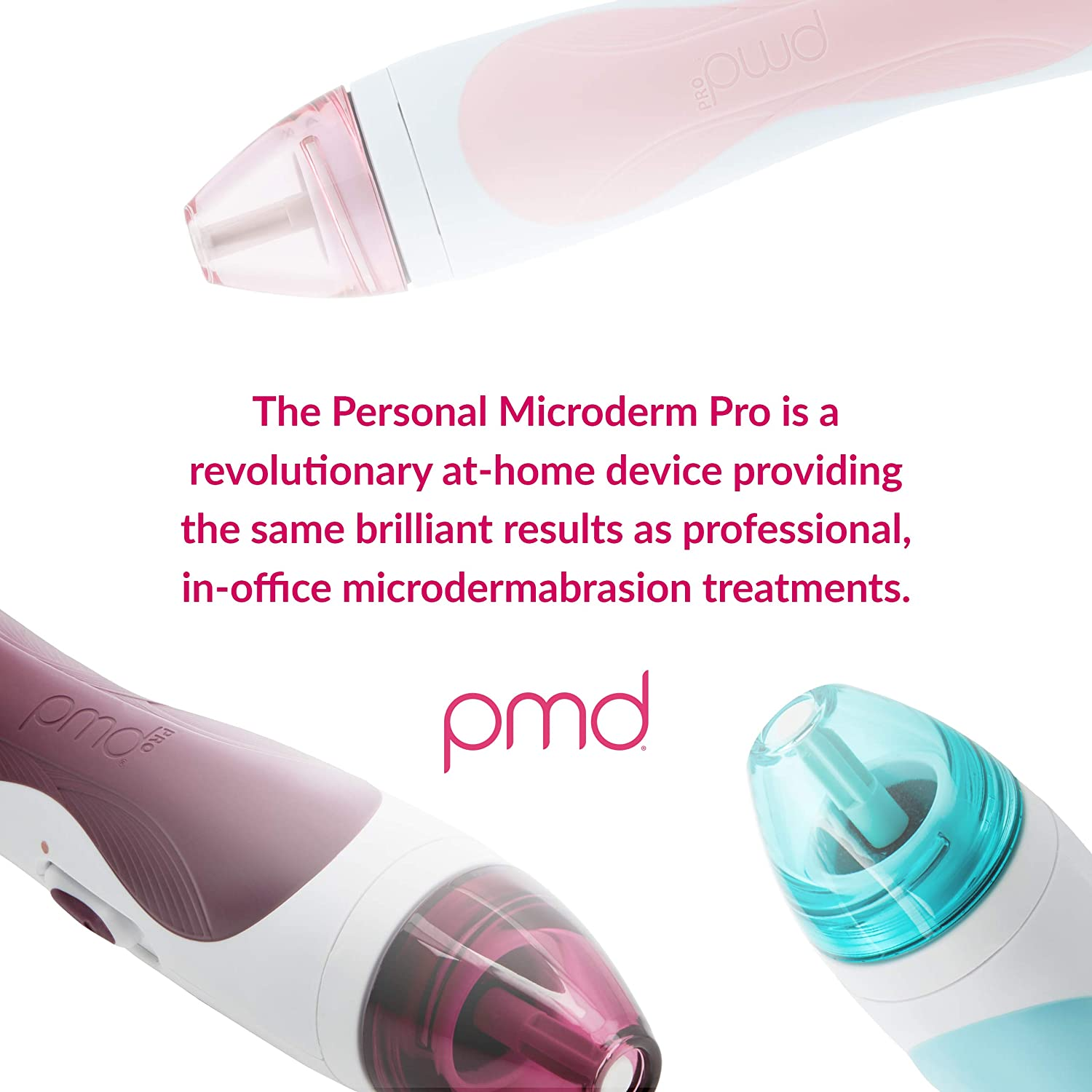 PMD Personal Microderm Pro - At-Home Microdermabrasion Machine with Kit for Face & Body - Teal: Premium Beauty