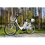 Electric Bike, 250 W, 36 V, 26 Inches - Pedelec Bicycle with Citybike Motor