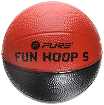 pure2i mprove Baloncesto 4.0 Espuma, Negro/Naranja, diámetro 10.2 ...