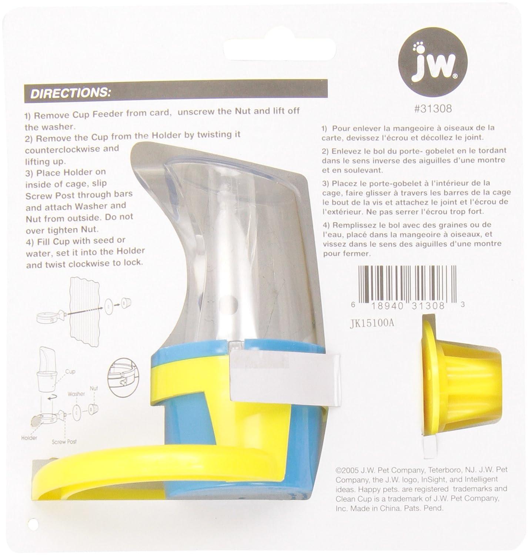 JW Pet jw Clean Cup Futter und Wasser Cup klein 31308