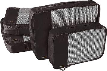 Basics Negro 4 unidades Bolsas de equipaje medianas