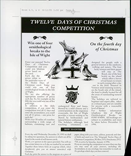 Amazon com: Vintage photo of Daily Telegraph: Christmas Giveaway