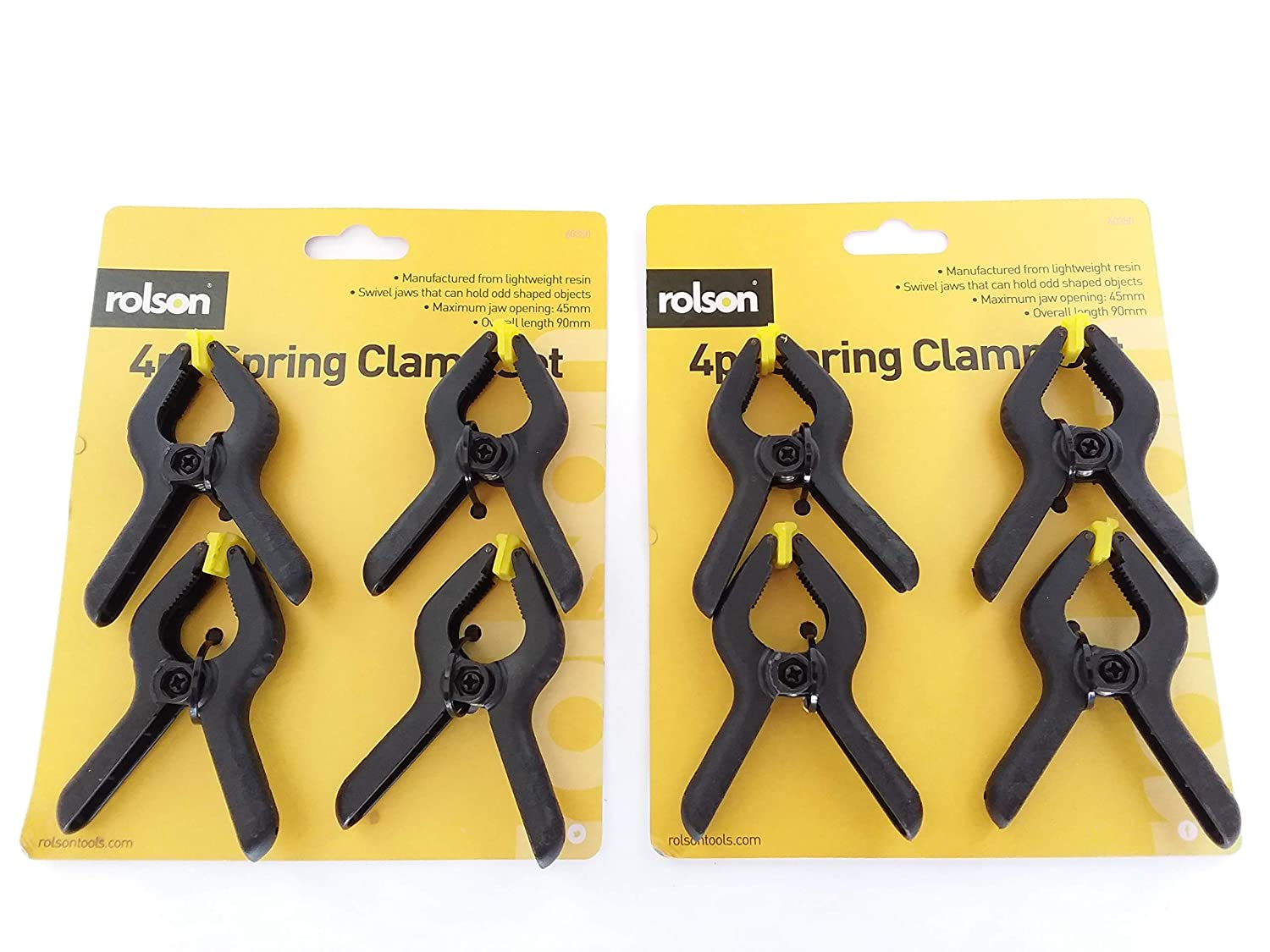 Rolson Spring Clamp Set 4 Pieces 60350