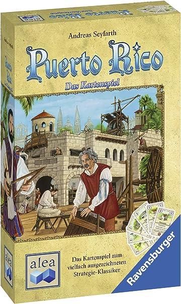 Ravensburger Alea 26975 Puerto Rico - Juego de Cartas: Seyfarth, Andreas: Amazon.es: Juguetes y juegos