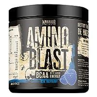 Warrior Amino Energy Blast BCAA Supplement 270g (Blue Raspberry)