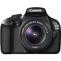 Canon EOS 1100D Fotocamera Digitale Reflex 12 Megapixel con Obiettivo EF-S 18-55mm DC III, Nero