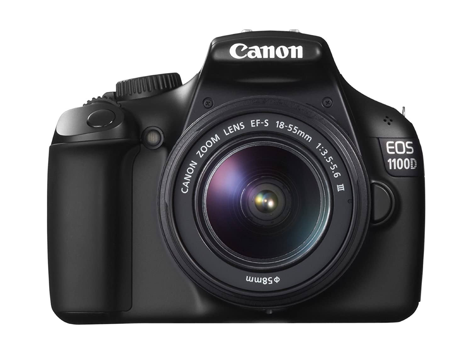 Amazon.com : Canon EOS 1100D DSLR Camera and 18-55mm IS II Lens Kit (Black)  : Camera & Photo