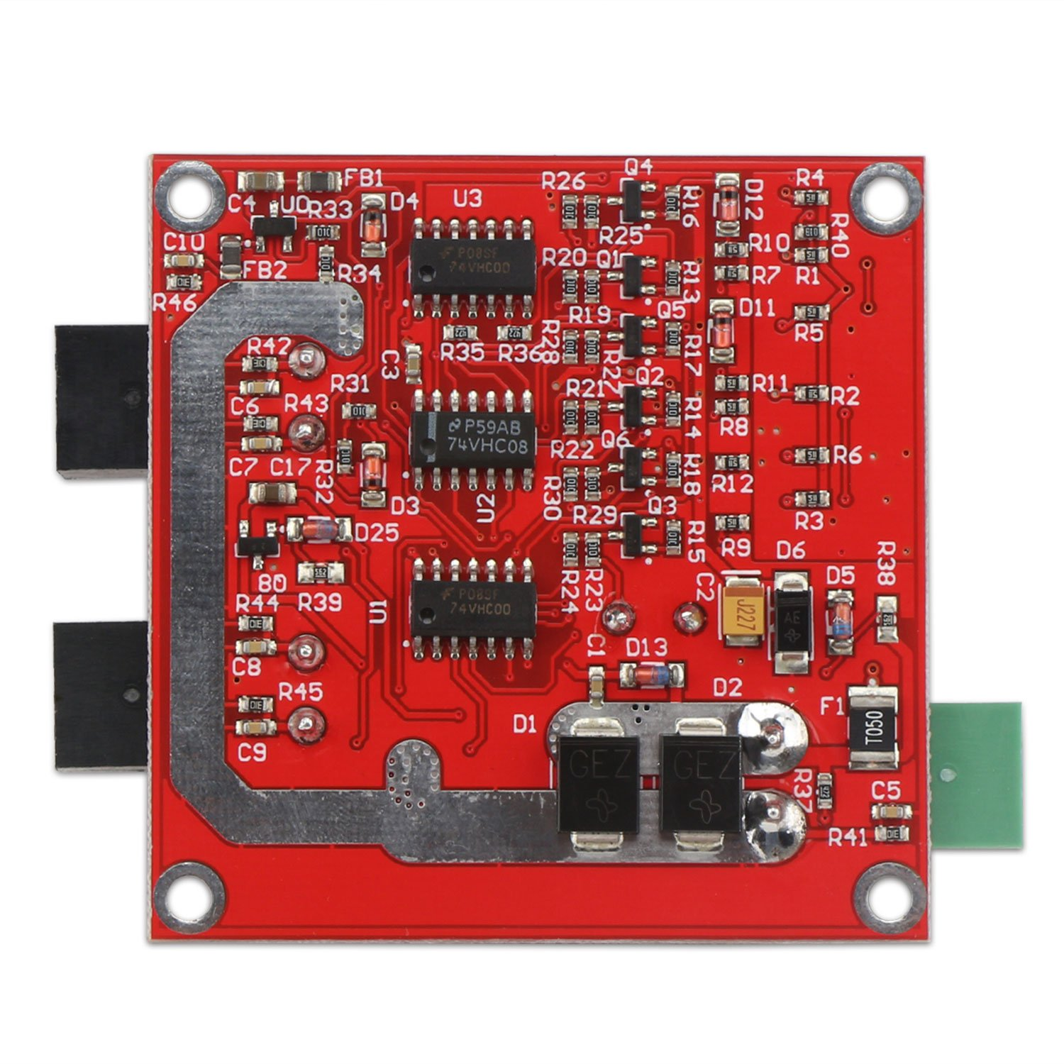 Dc Motor Driver Drok L298 Dual H Bridge Speed Controller L298n Diagram Along With Circuit Applications 65v 27v 7a Pwm Regulator Board 12v 24v Electric Control Module Industrial