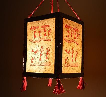 Buy handmade warli paper diwali lantern lamp lampshade akashkandil handmade warli paper diwali lantern lamp lampshade akashkandil akashdiya mozeypictures Image collections