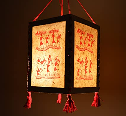 Buy handmade warli paper diwali lantern lamp lampshade akashkandil handmade warli paper diwali lantern lamp lampshade akashkandil akashdiya aloadofball Images