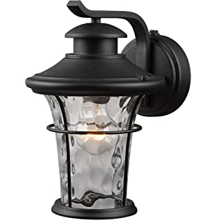 exterior light fixtures wall mount photocell. hardware house 21-2274 outdoor water glass wall lantern with photo cell exterior light fixtures mount photocell d