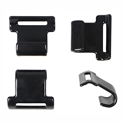 Rightline Gear Replacement Car Clips - Attach Car Top Carriers WITHOUT A Roof Rack: Automotive