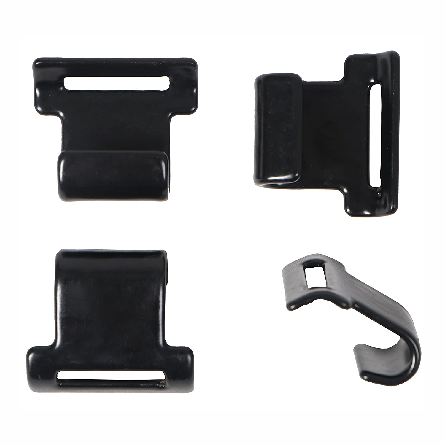 Rightline Gear 100600 Car Clips for Soft Car Top Carriers on Vehicles Without Roof Rack