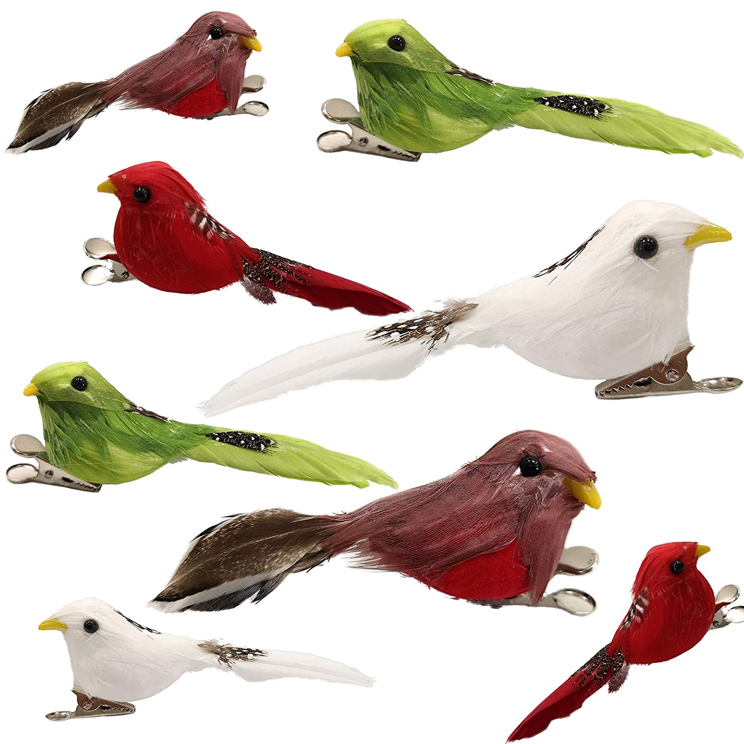 Feathered Craft Bird Figures