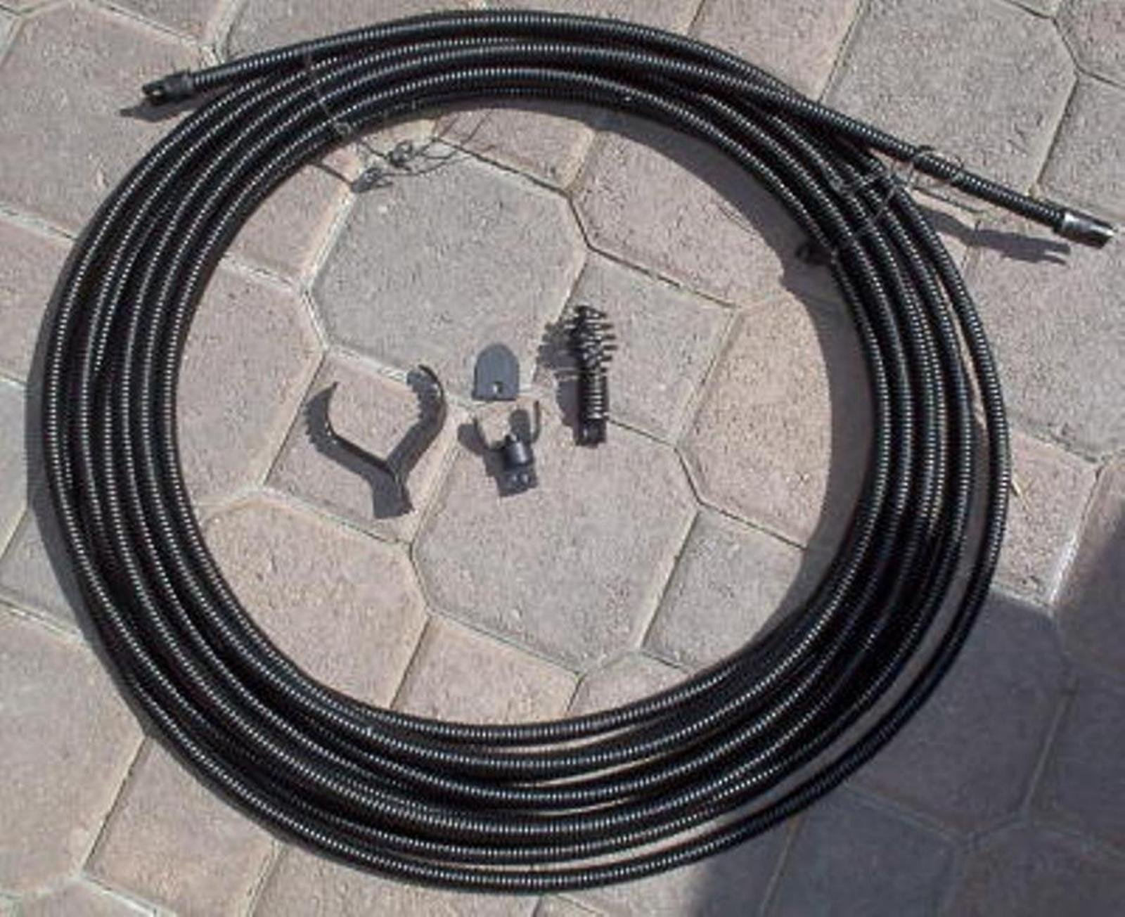 50' 1/2'' Drain Auger Cable Replacement by VKRP Enterprises