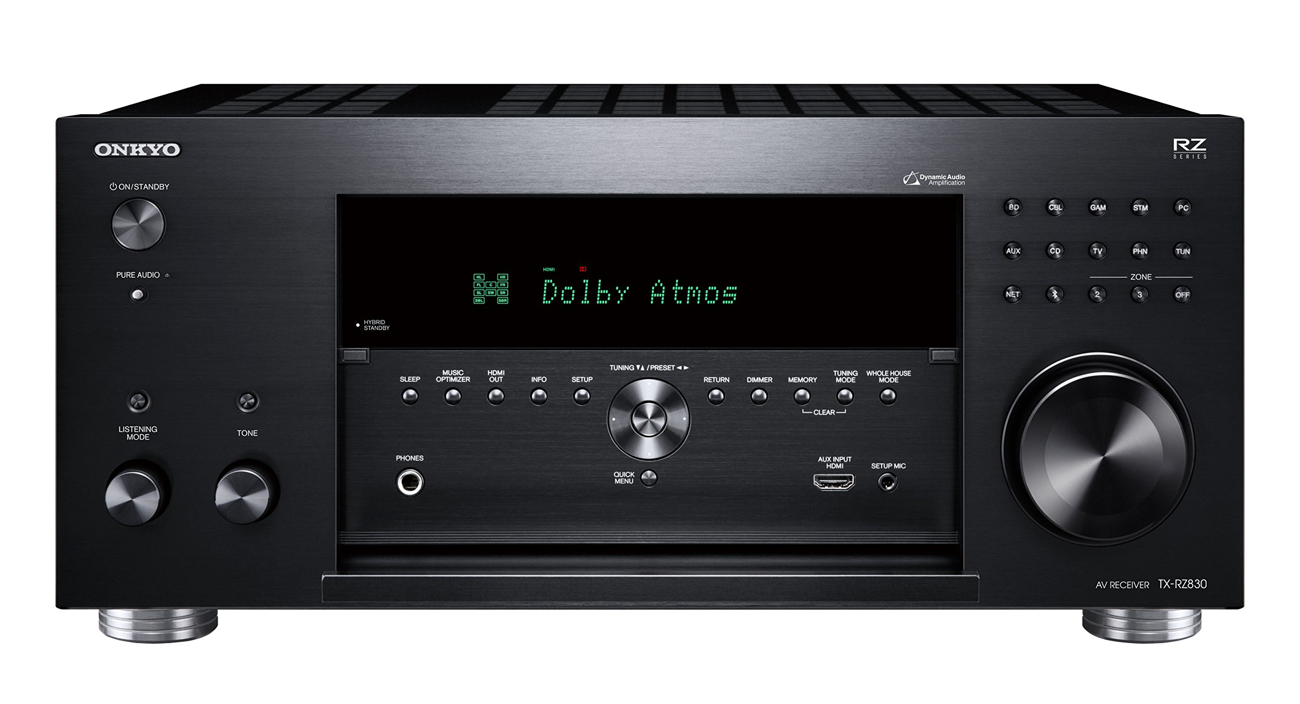 Onkyo TX-RZ830 9.2 Channel 4K Network A/V Receiver Black by Onkyo (Image #4)