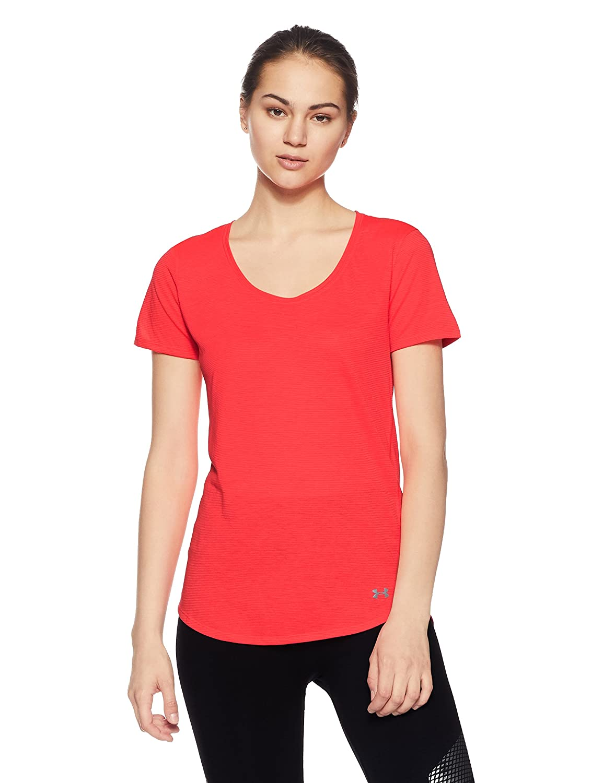 (アンダーアーマー) UNDER ARMOUR スレッドボーンストレイカー ショートスリーブ(トレーニング/Tシャツ/MEN)[1271517] B01N0BCFF3 X-Large Marathon Red/Reflective Marathon Red/Reflective X-Large