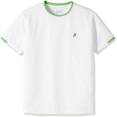 349047e593617 Amazon | (プリンス) prince テニスウェア ゲームシャツ WJ191 [ジュニア] | フィットネス・トレーニング ボーイズ 通販