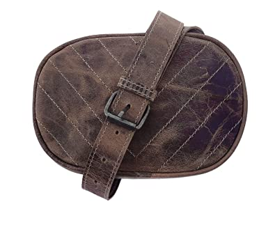 1c085d5af21 Amazon.com: Chalk Factory Natural Leather Waist Bag Leather Chest ...