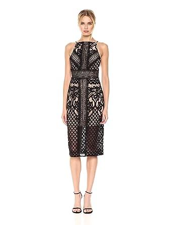 Keepsake The Label Women's Bridges Lace Midi Dress, Black, ...