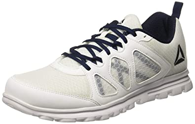 ca19efa5d9f0 Reebok Men s Run Affect Xtreme White Collegiate Navy Running Shoes-10  UK India
