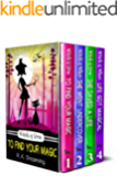 A Witch Detective Cozy Mystery Series Boxset: Books 1-4