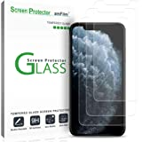 amFilm Glass Screen Protector for iPhone 11 Pro, XS, X (5.8 Inch) (3 Pack) iPhone 11 Pro, 10s, 10 Tempered Glass with…