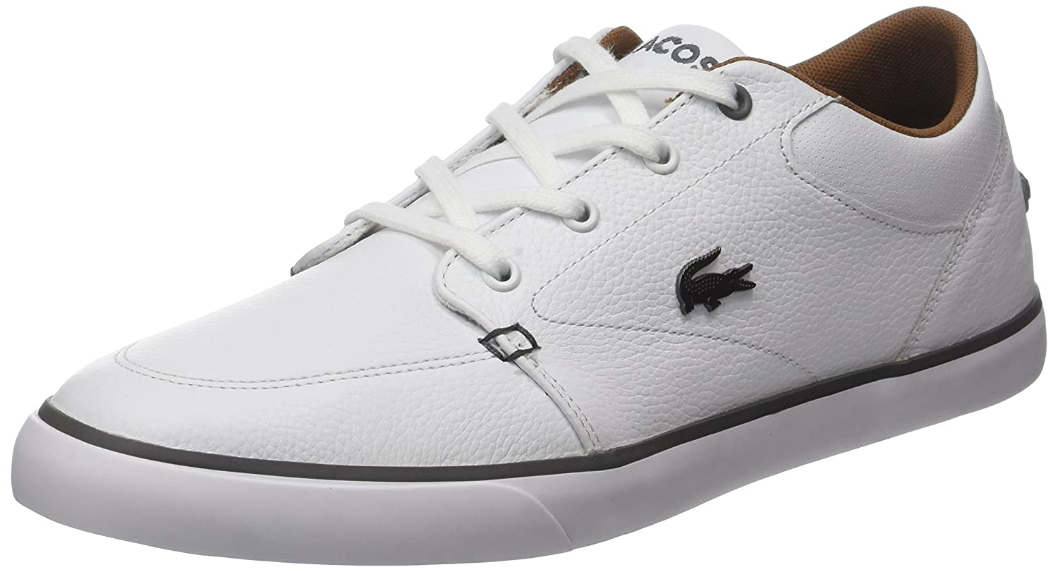 Lacoste Bayliss 317 Blanc - Chaussures Baskets basses Homme