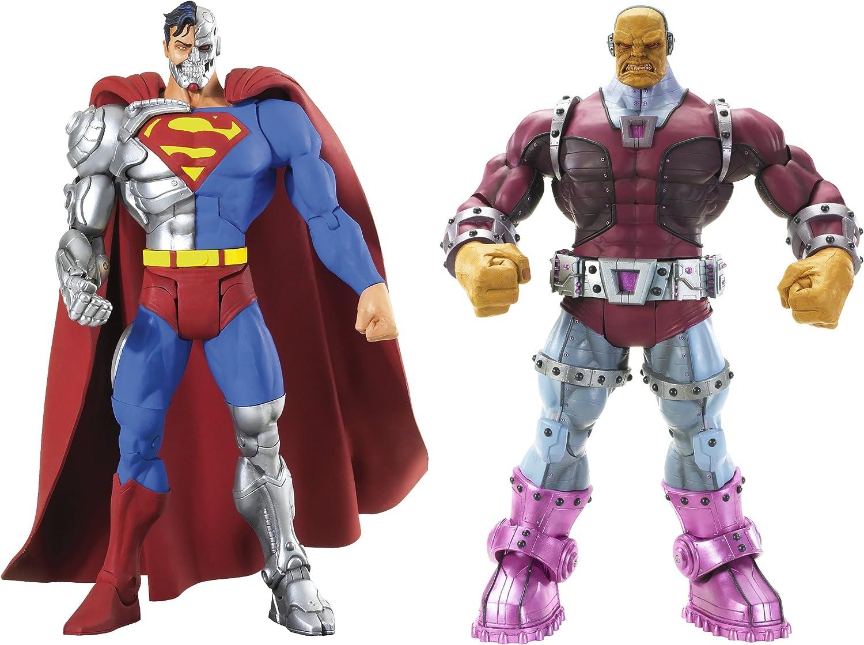 Mattel DC Universe Super Enemigos Figura Pack-Cyborg Superman ...