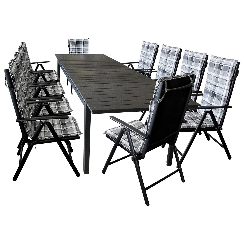 Gartentisch metall ausziehbar elegant balkontisch metall for Design tisch futura