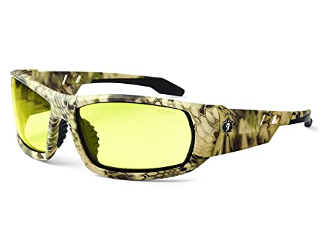 176cbccf74 Image Unavailable. Image not available for. Color  Ergodyne Skullerz Odin  Safety Glasses - Kryptek Highlander Frame