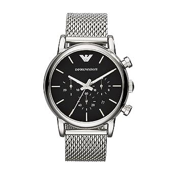 Armani damenuhren silber  Emporio Armani Herren-Uhren AR1811: Amazon.de: Uhren