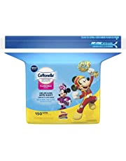 Cottonelle Flushable Wipes for Kids, Refill, 150 Wet Wipes in Disney packaging