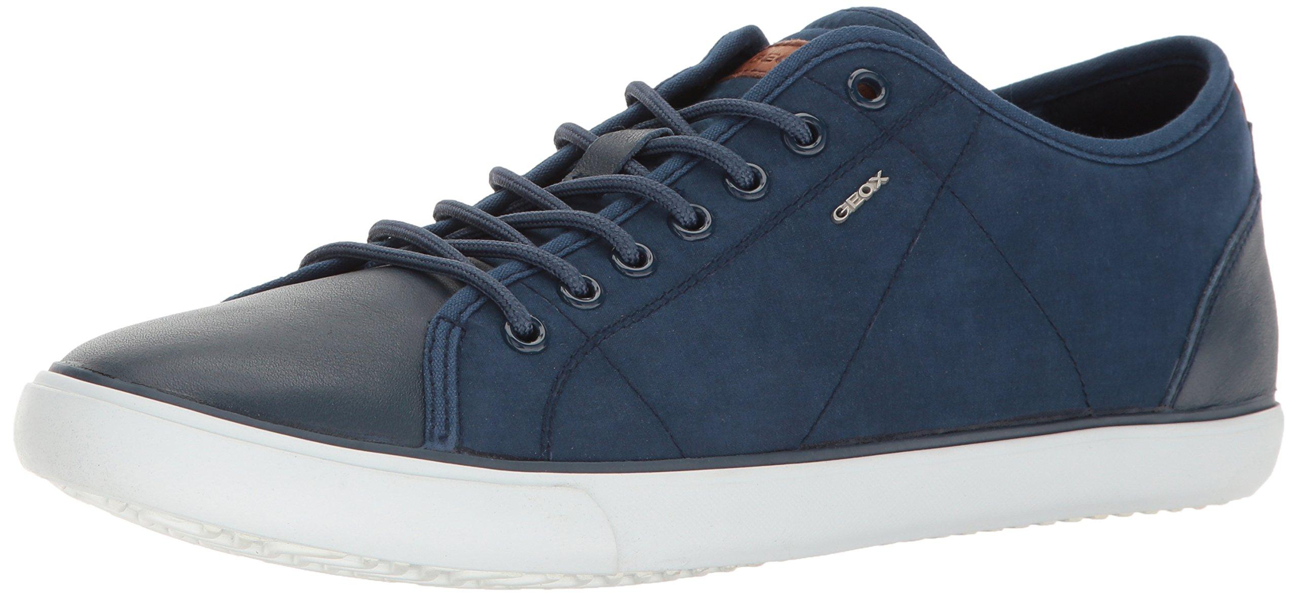 Geox Men's M Smart 73 Fashion Sneaker, Dark Royal, 42 EU/9 M US