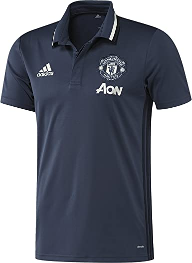 adidas Manchester United TRG Polo - Camiseta Hombre: Amazon.es ...