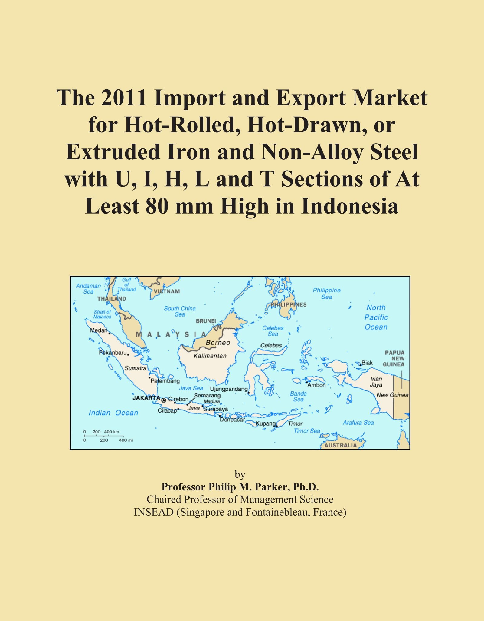 The 2011 Import and Export Market for Hot-Rolled, Hot-Drawn, or Extruded Iron and Non-Alloy Steel with U, I, H, L and T Sections of At Least 80 mm High in Indonesia Text fb2 ebook