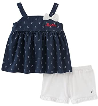 31b3da9a Amazon.com: Nautica Girls' Shorts Set: Clothing