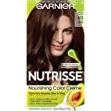 Garnier Hair Color Nutrisse Nourishing Color Creme, 413 Bronze Brown (Packaging May Vary)