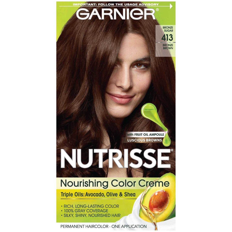 Amazon Com Garnier Nutrisse Nourishing Hair Color Creme 40 Dark