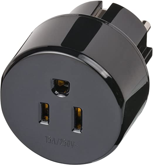 3 opinioni per Brennenstuhl Travel Adapter USA, Japan/earthed Black power adapter/inverter-