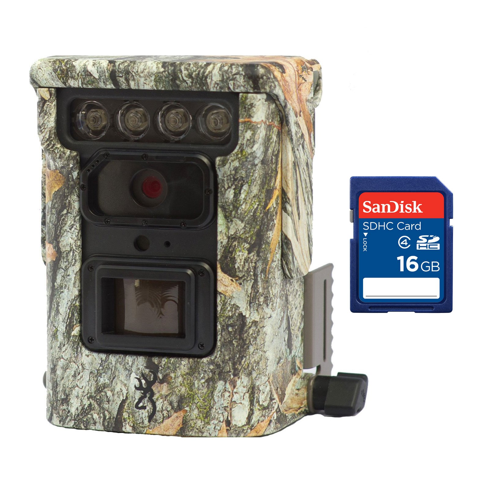 Moultrie Browning Trail Cameras Defender 850 20MP Bluetooth IR Game Camera + 16GB SD Card by Moultrie (Image #1)