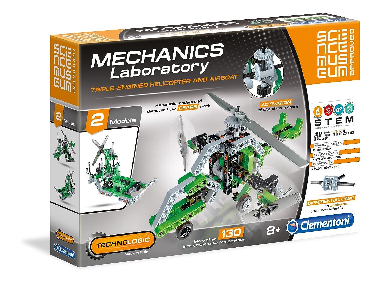 Clementoni 61286 meccanica Lab elicottero e Airboat Scientific kit