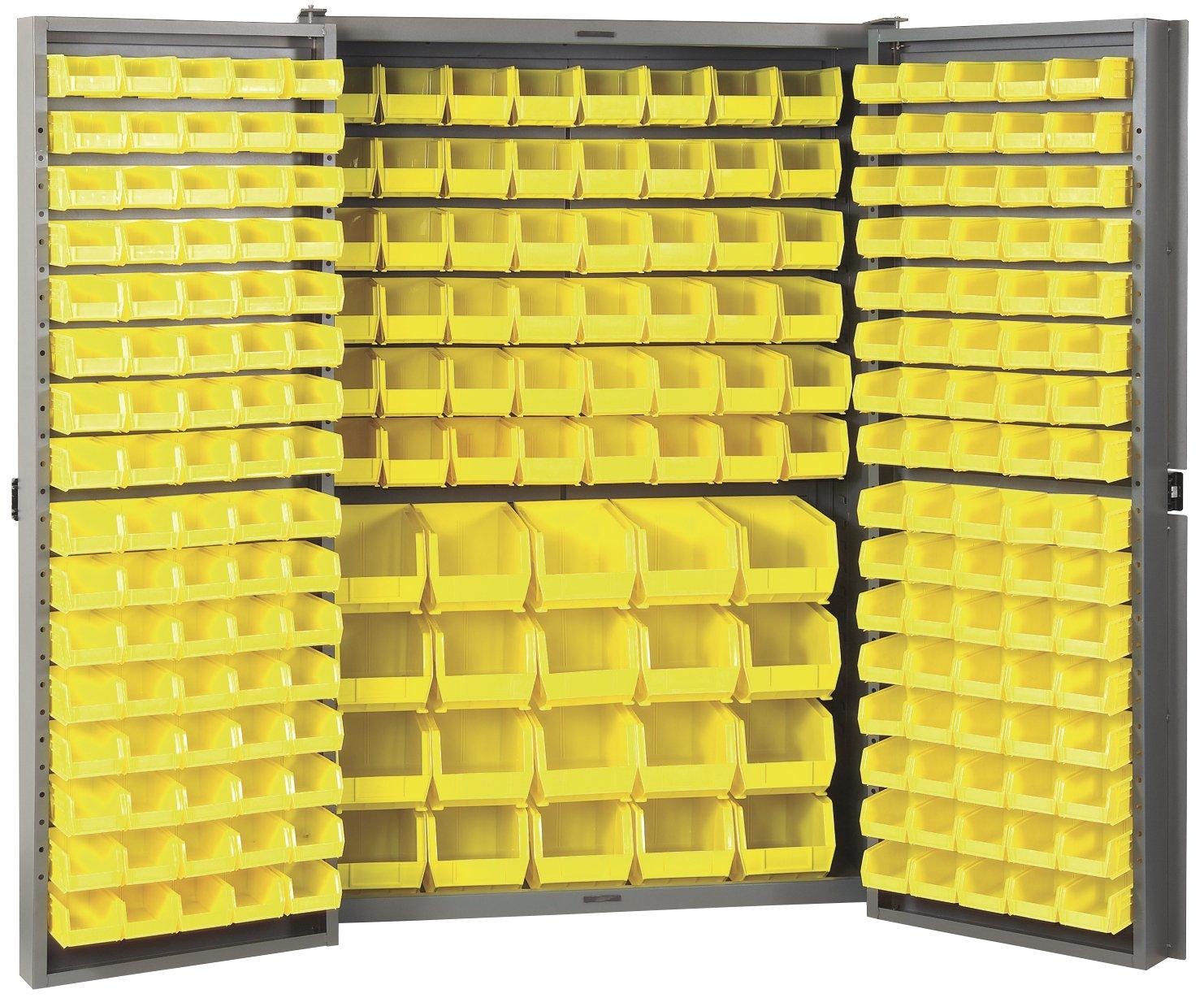 Amazon.com: Akro-Mils HD4824 F Heavy Duty Steel Louvered Storage ...
