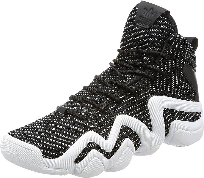 7b55e2c935378 adidas Originals Mens Crazy 8 ADV Prime Knit Shoes- 7.5 Black