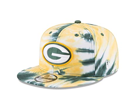 df2a2af71f3 Amazon.com   New Era Green Bay Packers Marbled Team 9FIFTY Snapback ...
