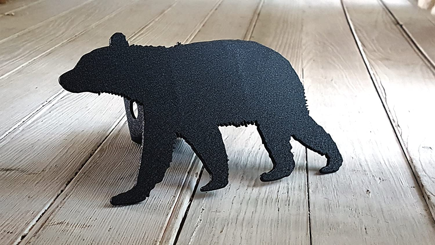 Black Bear Receiver Hitch Cover