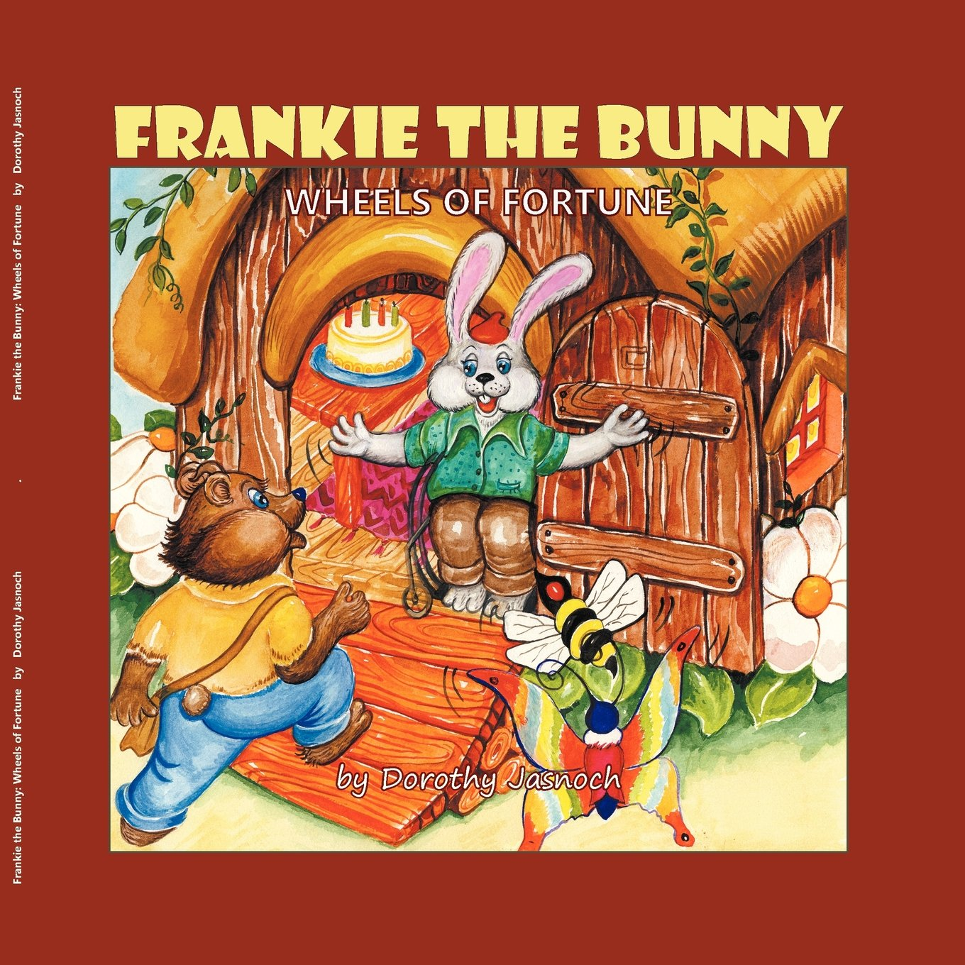 Frankie the Bunny Wheels of Fortune